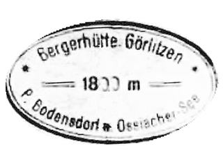 Görlitzen Berghütte