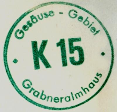 Grabneralmhaus Hüttenstempel