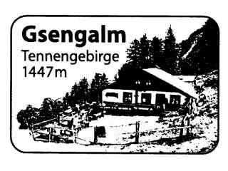 Gsengalm - Tennengebirge