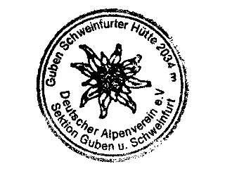 Guben-Schweinfurter-Hütte - Stubaier Alpen