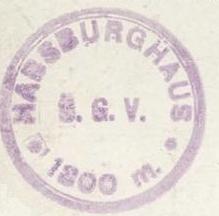 Habsburghaus, Hüttenstempel