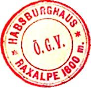 Hüttenstempel, Habsburghaus