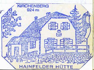 Hainfelder Hütte