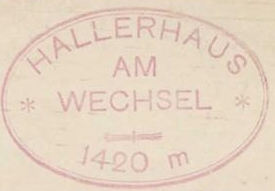 Hallerhaus, Hüttenstempel