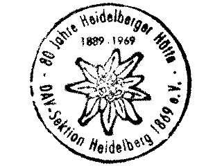 Heidelberger Hütte - Silvretta (von 1969)