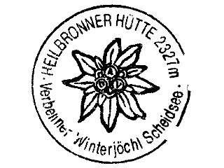 Heilbronner Hütte - Silvretta