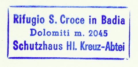 Heilig-Kreuz-Schutzhaus - Pragser Dolomiten