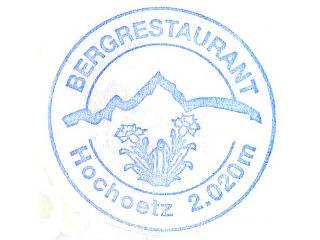 Hochötz Bergrestaurant - Ötztaler Alpen