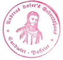 Hofer Geburtshaus - Passeiertal