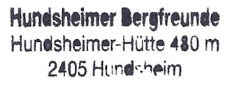 Hundsheimer Hütte - Hundsheimer Berge