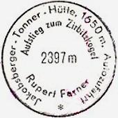 Hüttenstempel, Tonner Hütte