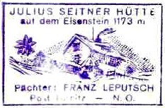 Julius-Seitner-Hütte - Türnitzer Alpen