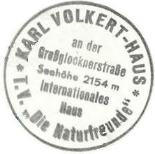 Karl-Volkert-Haus - Glocknergruppe