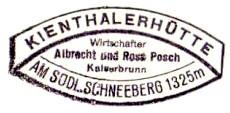 Kienthaler Hütte - Schneeberg / Rax