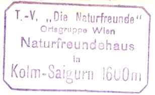 Kolm-Saigurn NFH - Goldberggruppe