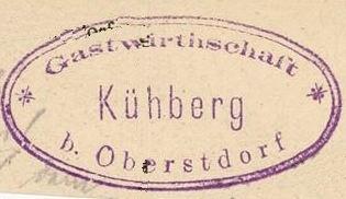 Kühberg, Hüttenstempel