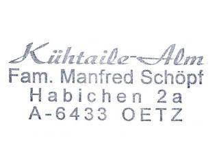 Kühtaile-Alm - Ötztaler Alpen