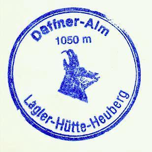 Lagler-Hütte - Chiemgauer Alpen