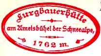 Lurgbauerhütte - Mürzsteger Alpen