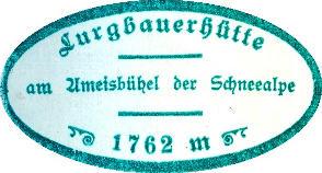 Lurgenbauerhütte