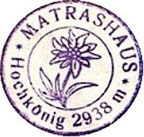 Matrashaus, Hüttenstempel