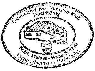 Matrashaus - Berchtegadener Alpen