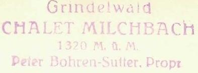 Milchbach Chalet - Berner Alpen
