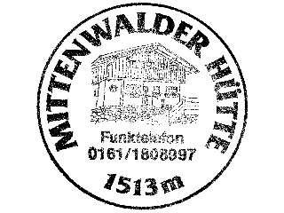 Mittenwalder Hütte - Karwendel