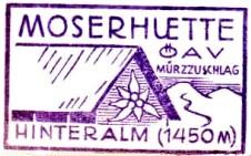 (Peter) Moserhütte - Mürzsteger Alpen