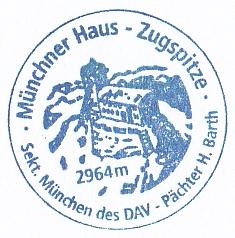 Münchner Haus - Wettersteingebirge
