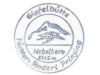 Nebelhorn Gipfelhütte