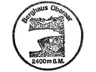 Oberaar Berghaus - Berner Alpen