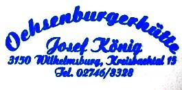 Ochsenburgerhütte - Wienerwald