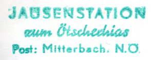 Hüttenstempel Ötschechias
