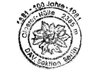 Olperer Hütte - Zillertaler Alpen (von 1981)