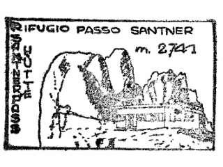 Passo Santner, Rifugio - Dolomiten / Rosengartengruppe