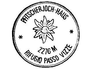 Pfitscherjoch-Haus - Zillertaler Alpen