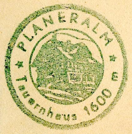 Planeralm, Hüttenstempel