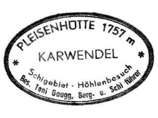 Pleisenhütte - Karwendel
