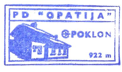 Poklon (PD Opatija) - Dinarisches Gebirge (Istrien)