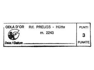Preuss-Hütte - Dolomiten / Rosengartengruppe