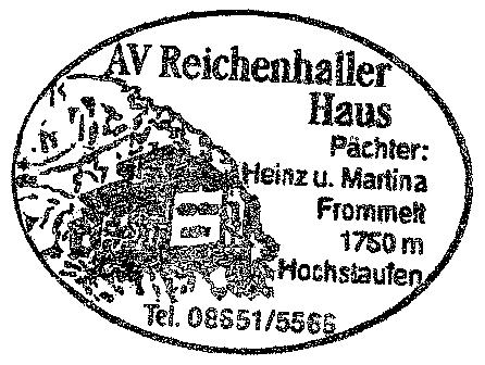 Reichenhaller Haus - Chiemgauer Alpen