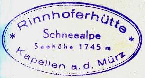 Rinnenhoferhütte