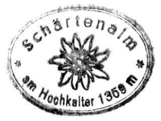 Schärtenalm - Berchtesgadener Alpen