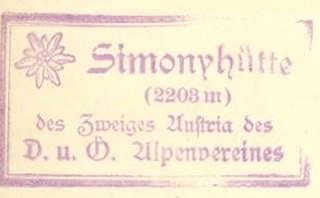 Simonyhütte