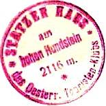 Statzer Hütte - Schieferalpen