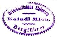 Steinberghütte - Kitzbüheler Alpen