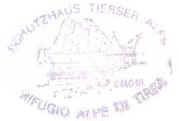 Hüttenstempel Alpe di Tirea