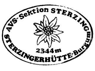 Sterzinger Hütte - Zillertaler Alpen