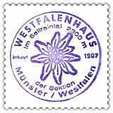 Westfalenhaus, Hüttenstempel